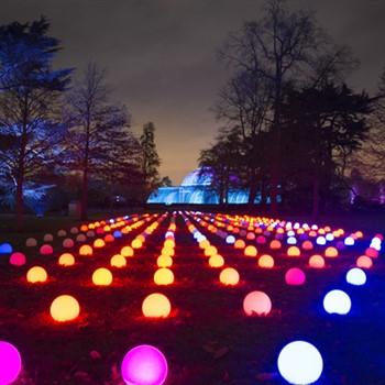 Christmas lights at Kew