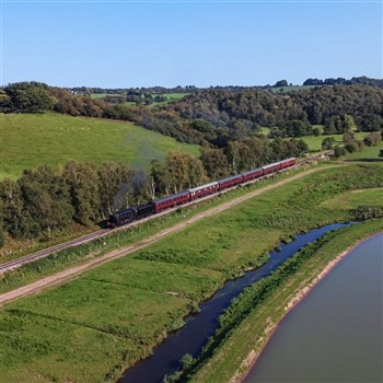 Churnet Valley railway and Cream Tea