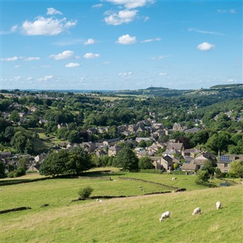 Barnsley on Market Day and Holmfirth