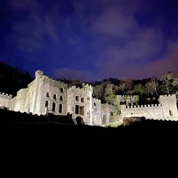 Gwyrch Castle (I'm a celebrity) and Colwyn Bay