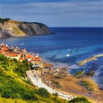 Robin Hoods Bay and Whitby