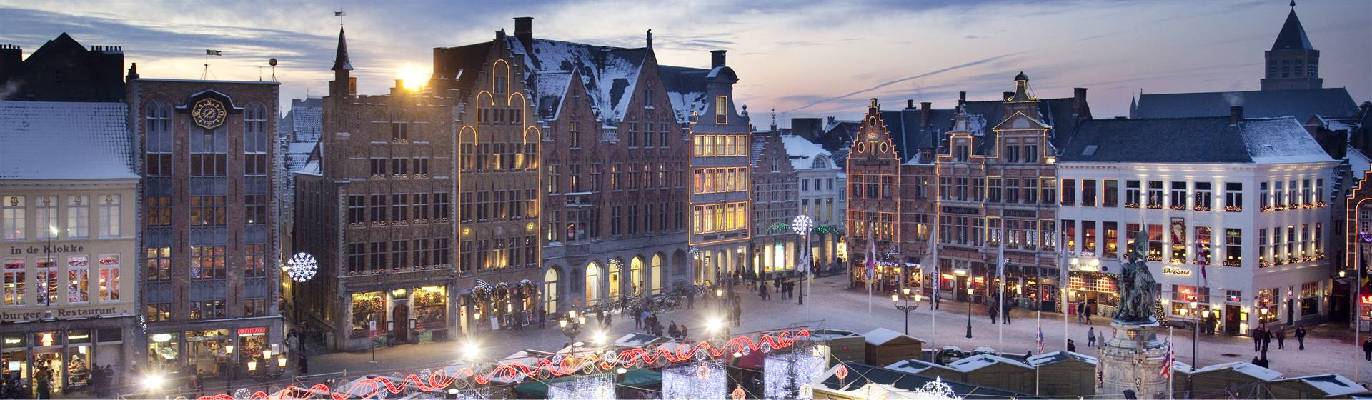 Medieval Bruges Christmas Market