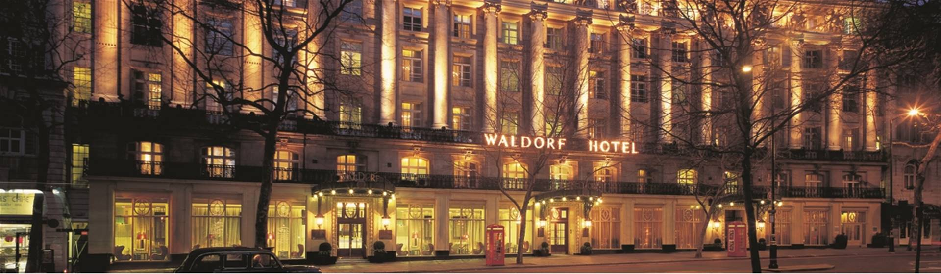 Sunday night at the Waldorf with Afternoon Tea